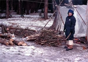 Winter survival training (Wikipedia Image)