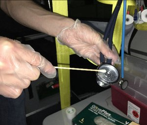 A recent study suggested that ambulance equipment could be contaminated with MRSA. (Photo/Cody Gibson)