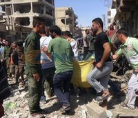IS suicide attack in Syria kills 44
