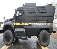 Mich. police acquire mine-resistant military truck