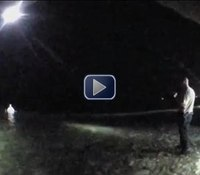 Video: Ohio cops TASER murder suspect armed with knife