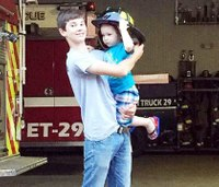 Colleagues mourn death of Pa. junior firefighter