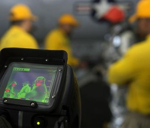 Let the grant reviewer know the benefits a new thermal imaging camera will bring to your department. (Photo/U.S. Department of Defense)