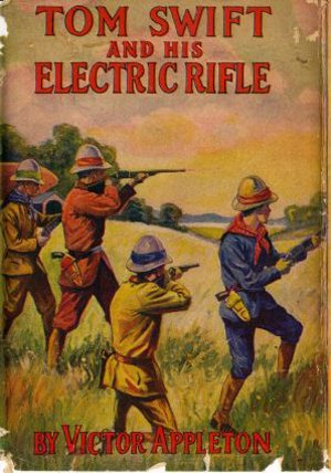The history of the TASER ECD dates back as far as 1911 during the publication of the 'Tom Swift' adventure stories. (WikiCommons Image)