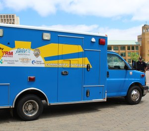 Beginning in early June, the Outreach Vehicle will be manned with a team at least once every week. (Photo/ Topeka Police Department)