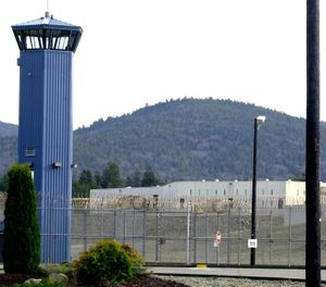 In this Dec. 7, 2001 file photo, Pelican Bay State Prison is seen outside of Crescent City, Calif. (AP Photo/Rich Pedroncelli, File)