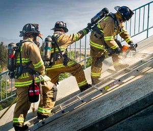 Experience promotes application of theory and, in time, firefighters begin seeing critical incidents with a keen eye toward increasing operational reality, bolstered by their training and education. (Photo/San Ramon Valley Fire)