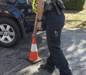 No roadside work site is ever truly safe, due to the number of distracted, impaired and/or incompetent drivers on the road. (Photo/PoliceOne)