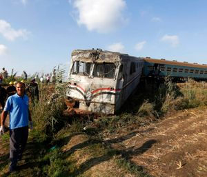 Magdy Hegazy, a top health official in Alexandria, said that along with the 43 killed, the crash also injured 122 people. (Photo/AP)