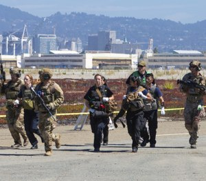 There is more than one way to enter a structure, enter and search a room, manage a hostage barricade situation or execute a search warrant. (Photo/Alameda County EMS & Archie Aquino)