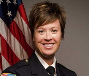Trisha Wolford, who was the first female assistant chief in Spokane, will be the first female chief of Anne Arundel County Fire Department. (Photo/SFD)