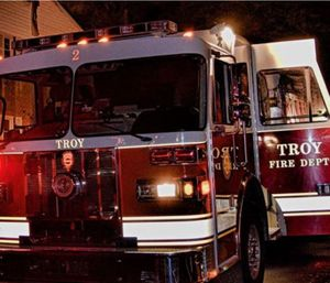 Troy Fire Dept. Chief Thomas Garrett will soon be without union protection if a new contract is approved. (Photo/TFD)