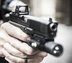 Even if only a split second is saved during a use of authorized deadly force, any piece of equipment that enables LEOs to engage armed subjects with more confidence and precision is worth using. (Photo/Courtesy)