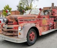 Mo. firefighters restore department's first fire truck