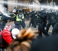 ACLU sues over police actions in DC on Inauguration Day