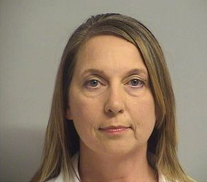 This undated file photo provided by the Tulsa Oklahoma Police Department shows officer Betty Shelby. (AP File Photo/Tulsa Police Department)