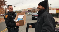 Video: Conn. cops hand out turkeys instead of tickets