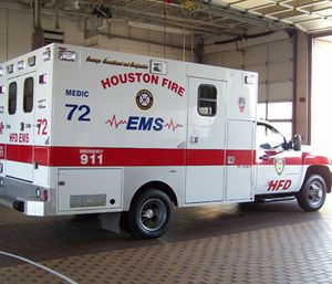 Two ambulances have recently broken down with patients inside, according to Houston Professional Firefighters Association president Patrick Lancton. (Photo/Houston Fire Department)