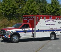 Md. ambulance, aerial dedicated to honor veterans