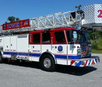 Md. aerial, ambulance dedicated to honor veterans