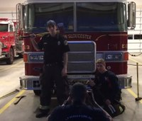 Watch: Rapping firefighters' parody recruitment video goes viral