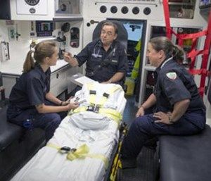 Embracing an EMS company officer culture is more than touting a title. (Photo/Vermont Department of Health)