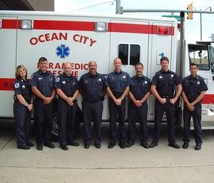 The Ocean City Fire Department received a grant to buy training equipment for paramedics. (Photo/OCPF)