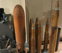 Calif. neighborhood evacuated after WWII explosives are found in backyard
