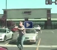 Video: Wash. suspect rams cruisers, gets shot in drug sting