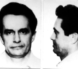 This photo May 4, 1981 file booking photo combo provided by the FBI shows Donald Eugene Webb, wanted in connection with the Dec. 4, 1980 murder of Police Chief Gregory Adams in Saxonburg, Pa. (Federal Bureau of Investigation via AP, File)