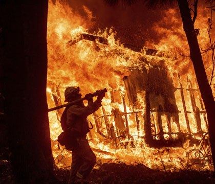 Officials release 911 calls from onset of deadly Calif. wildfire