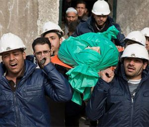 A Syrian volunteer search-and-rescue group has launched a campaign to win its first responders the 2016 Nobel Peace Prize. The Syrian Civil Defense, also known as the White Helmets, operate in the country's war-ravaged opposition areas, where they are exposed daily to bombs dropped by government and Russian warplanes. (AP Photo)