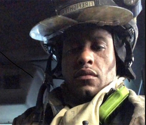 Buffalo Fire Department firefighter Eric Whitehead suffered third-degree burns to his hands while battling a blaze. (Photo/BFD)