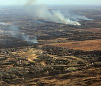 2-county Kan. wildfire sets new state record