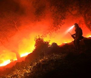 Included in the VFA program is the opportunity for small rural fire departments to apply for grant funds to address wildland and rural firefighting needs. (Kent Porter/The Press Democrat via AP)