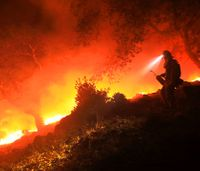 The origins of the Santa Rosa wildfire
