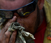 Why firefighters need to practice self-care before caring for others