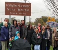 Fallen firefighter-paramedic recognized with roadway named in his honor