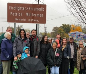 Patrick Wolterman should be remembered as a superhero, said the Ohio state lawmaker who helped get a portion of Ohio 4 named for him. (Photo/Twitter)