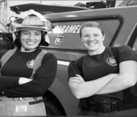Wash. fire dept. staffs first all-female paramedic unit in its history