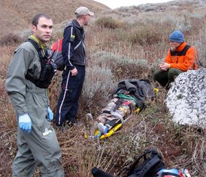 Dr. Smith completed three middle east deployments as well as several other missions around the globe. (Photos courtesy of Will Smith)