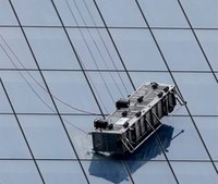 Video: Firefighters rescue dangling window washers at WTC