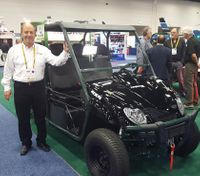 Xtreme Green Electric Vehicles launch new police ATV at IACP 2016