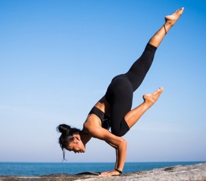 Not only does yoga build strength, balance and flexibility, you also pay close attention to your breathing. (Photo/Pixabay)
