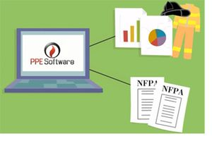 PPE Software allows easy maintenance of PPE inventory with full NFPA 1851 compliance.