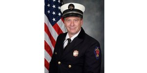 Rockford Fire Chief Dan Zaccard is back on the job after battling cancer. (Photo/Rockford Fire Dept.)