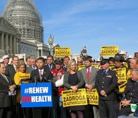 Emergency responders rally for 9/11 health bill extension