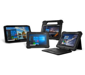 Rugged tablets designed specifically for public safety can provide the desired operating systems, software and security needed for professional use, as well as a detachable keyboard to make writing reports easy whether in the vehicle or at the station. (image/Zebra Technologies)