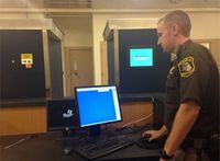 Mich. jail uses old airport scanner for searches
