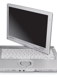 Panasonic'sToughbookC1features an Intel's Core i5 processor with 2GB RAM and a 250GB shock-mounted hard drive.
